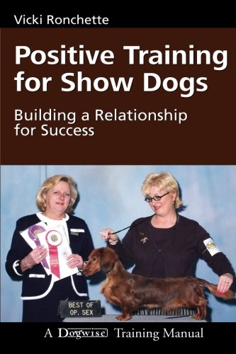 Positive Training for Show Dogs Cover Image.