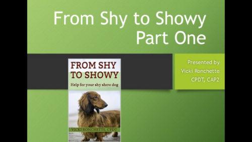 Shy to Showy Pts1&2 Webinar