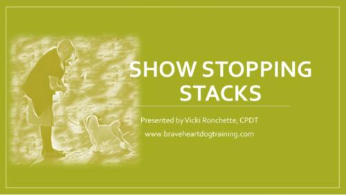 Show Stopping Stacks Webinar